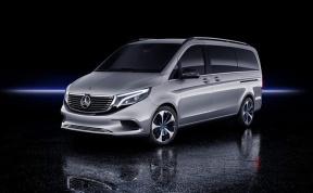 奔驰EQV亮相日内瓦车展,400公里续航的豪华MPV值得拥有