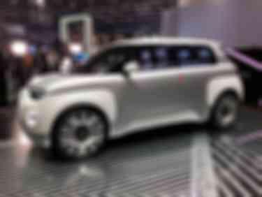 菲亚特Centoventi的概念车2