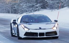 法拉利全新混动超跑曝光 或搭载V6双涡轮增压发动机+电动机