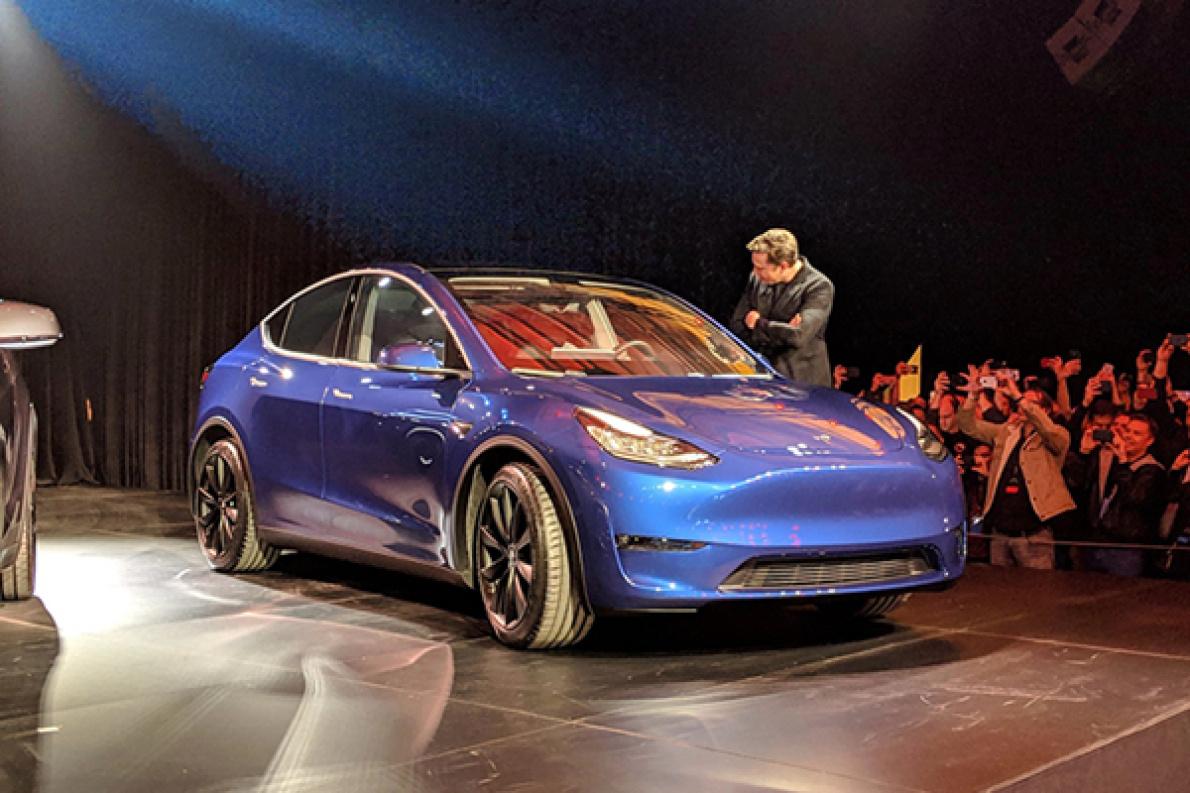 售价26万起,百公里加速3.5秒,特斯拉Model Y的重点信息来了