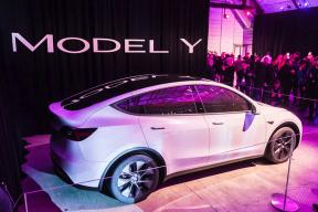 特斯拉 Model Y 抢先试驾:还以为坐在 Model 3 里