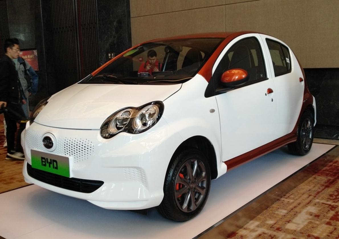 预售价6-8万元 比亚迪微型纯电动车e1首发限量版开启预定
