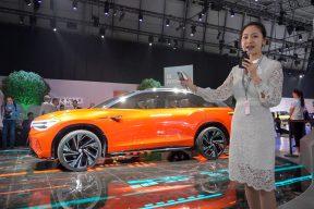 2019上海车展视频-珠珠体验大众概念车I.D ROOMZZ