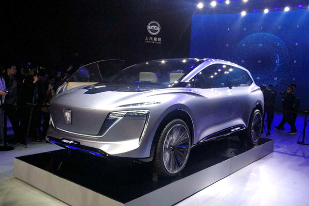 VISION-i概念车,L3级的Marvel X Pro ,上汽2019汽车创行者大会亮点多