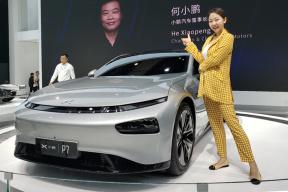 2019上海车展—珠珠体验小鹏P7