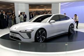 溜背设计、造型修长,蔚来首款轿车ET 预览版正式发布