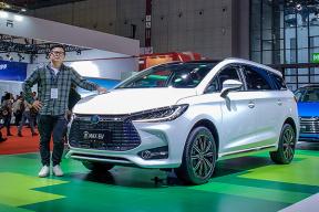 2019上海车展视频-空间大,第三排不憋屈 体验比亚迪宋 MAX EV 7 座版