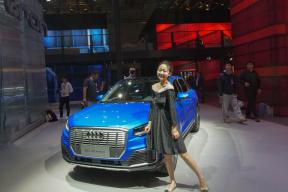 2019上海车展视频-中国特供!主打年轻化 体验一汽-大众奥迪 Q2L 30 e-tron