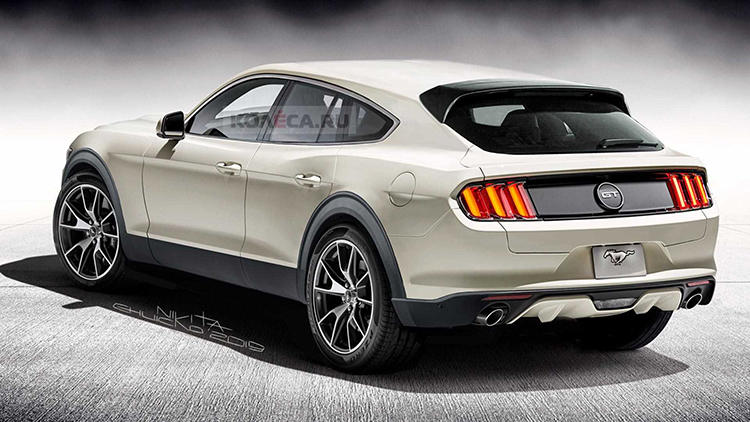 ford-mustang-suv-redner阿萨飒