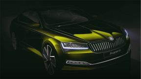 2020 款斯柯达Superb预览图放出,将为斯柯达首款插电混动车型