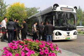 扫手支付 熊猫智能公交已在天津试运行