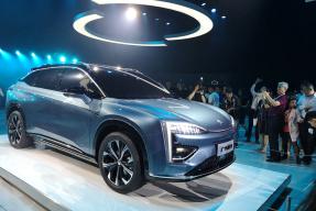 """广汽蔚来发布""""HYCAN合创"""" 品牌 首款纯电 SUV 概念车亮相"""