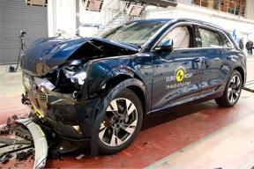 成人安全性得分 91%,奥迪e-tron 在 E-NCAP 碰撞测试中获五星评级