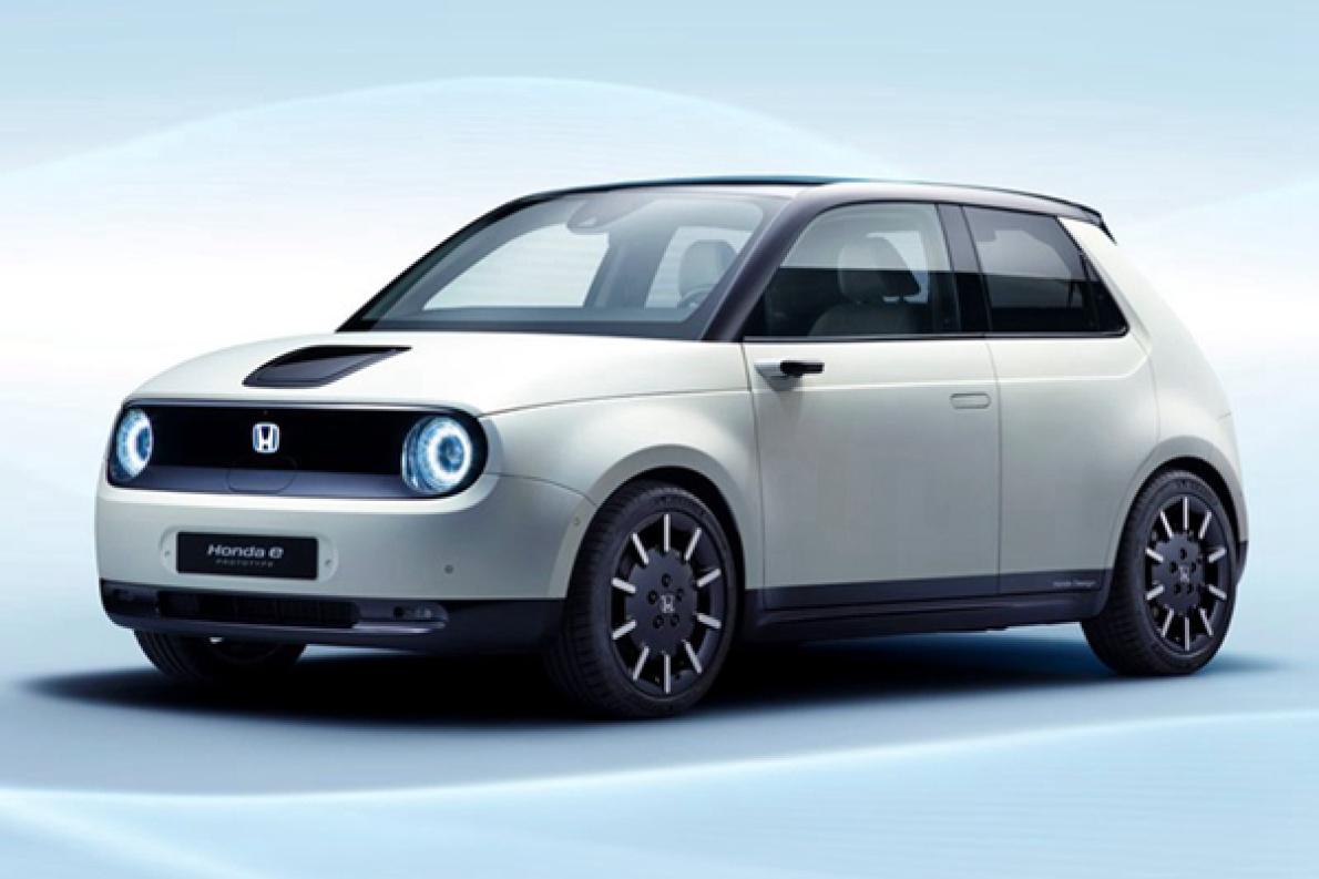 空气阻力减少 90% ,本田e 的量产车将标配电子后视镜
