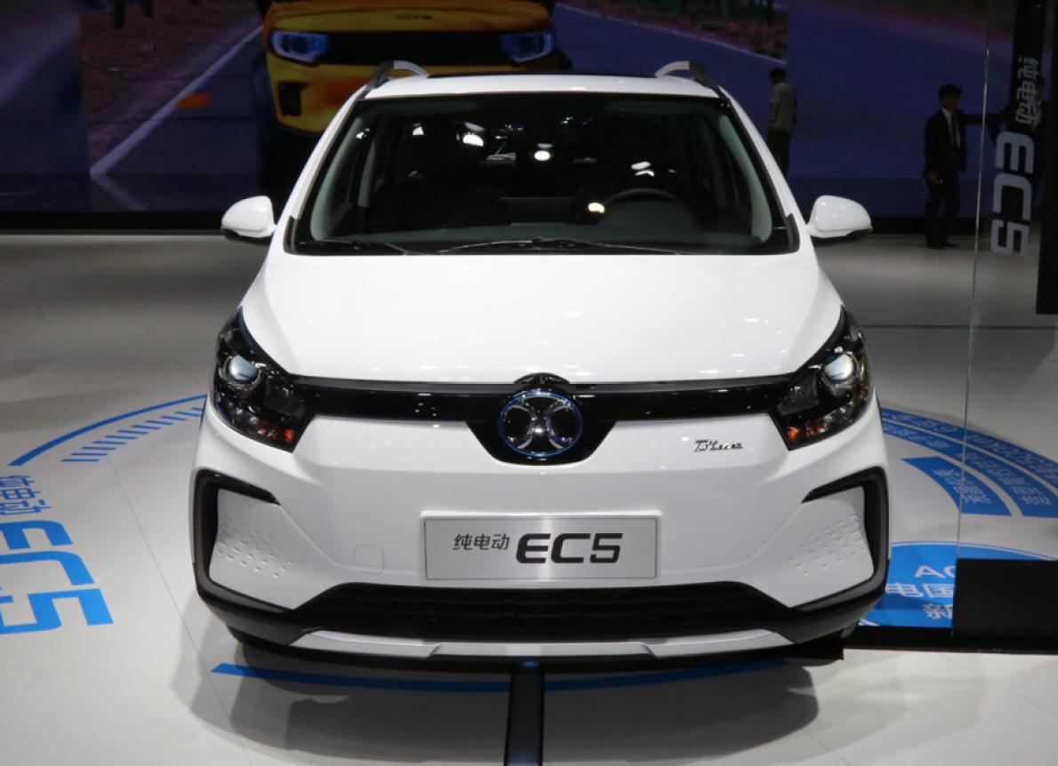 北汽 EC 系列又添新車,小型SUV EC5 有望6月上市