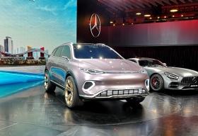 腾势 Concept X  概念车发布 续航 500 的中型SUV明年初即可买到