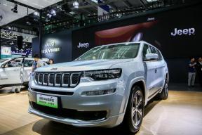 全新Jeep指挥官插电混动版亮相深港澳车展