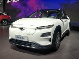 工况续航 500 km,北京现代昂西诺纯电版亮相重庆车展