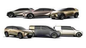 丰田宣布电动化战略,2020年起将推出6款基于E-TNGA架构的正向电动车型