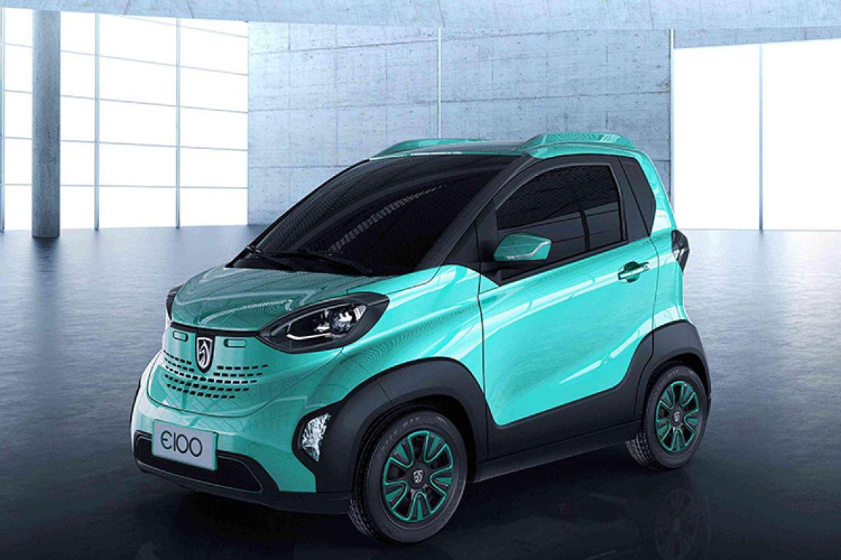 年产能 8 万辆 上汽通用五菱重庆工厂生产宝骏 E100