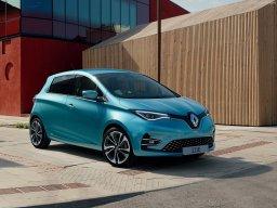 雷诺发布换代ZOE 欧洲最销量的纯电小车实力不俗