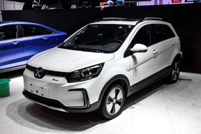 现款EX360的改款车型,综合续航403km,北汽新能源EC5将于7月13日上市