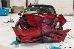 特斯拉Model 3 在 E-NCAP 撞出了 5 星评级,安全辅助更是撞出了历史最高分