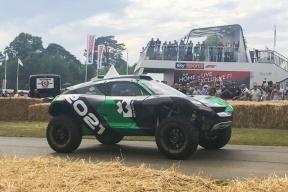 ODYSSEY 21电动越野车亮相古德伍德速度节 将征战电动车越野大赛