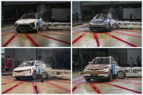 蔚来ES8/小鹏G3/威马EX5 三款新势力车型获五星评级,C-NCAP最新碰撞成绩来了
