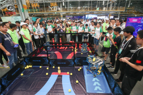 """长城汽车智慧工厂迎来机器人界""""奥林匹克"""" 为中国汽车品牌打call"""