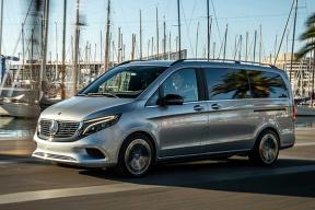 续航或达 400 km 奔驰EQV 将于 9 月车展正式发布