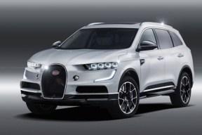 史上最便宜的布加迪来袭 旗下首款纯电 SUV 渲染图曝光