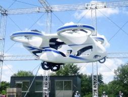 日本测试飞行汽车,可升至 3 m 高空悬停一分钟