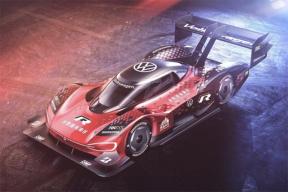 大众纯电动赛车ID.R最新涂装发布,将在挑战中国天门山99道弯时使用