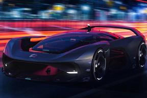 疑似配备轮毂电机,蔚来 NIO Vision GT 超跑渲染图曝光