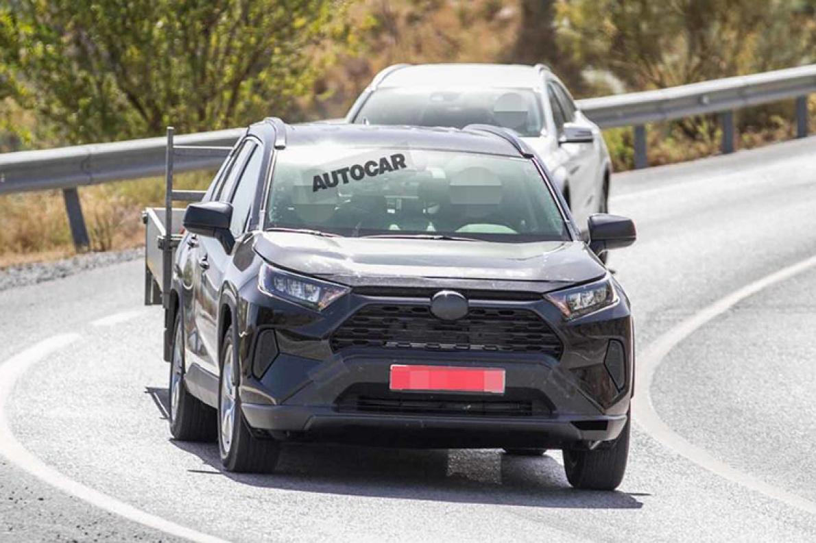 RAV4 插混谍照曝光 2020 年一汽丰田同步投产