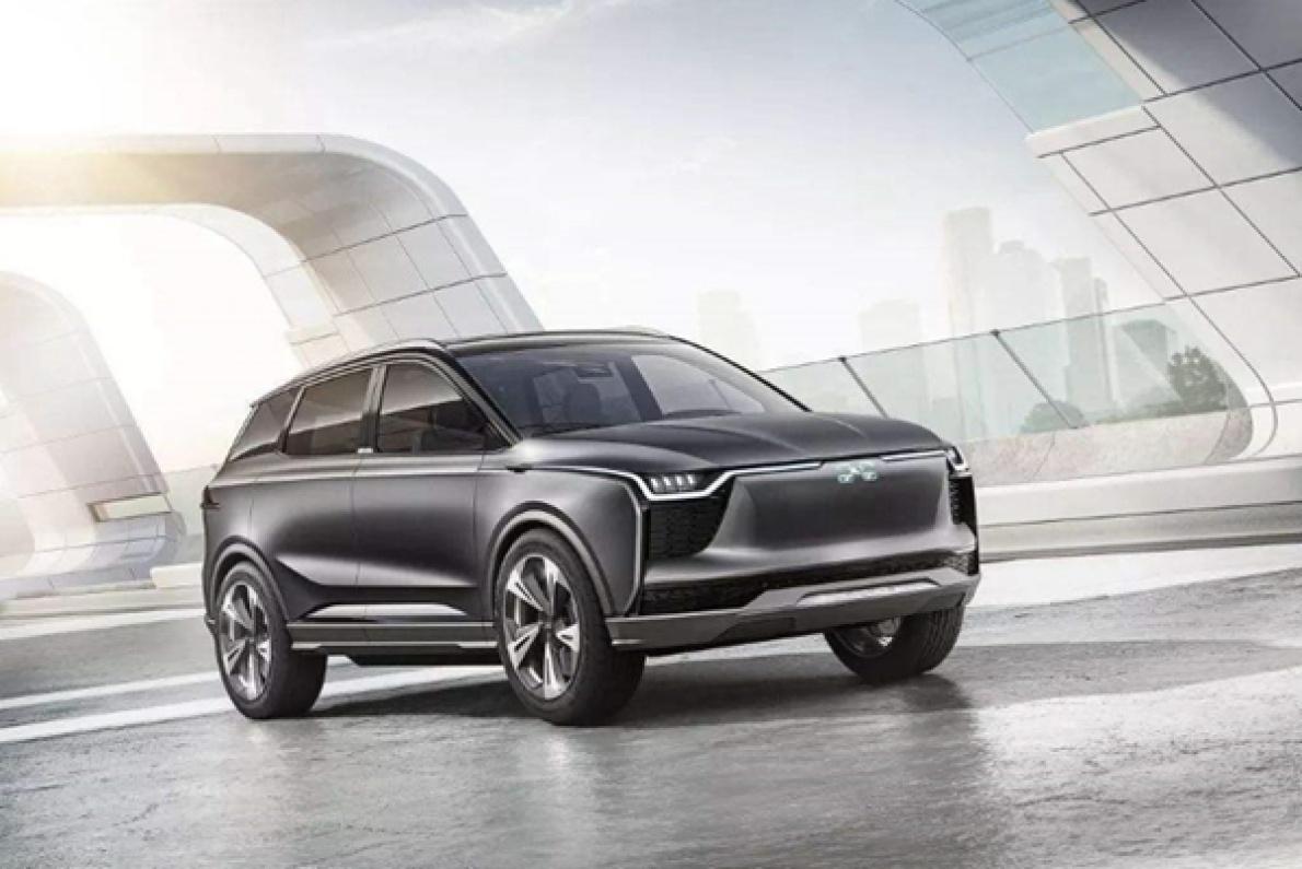 下月初!愛馳首款純電SUV 將預售 續航 503 km