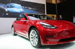 特斯拉Model3,特斯拉Model3最新款的车!