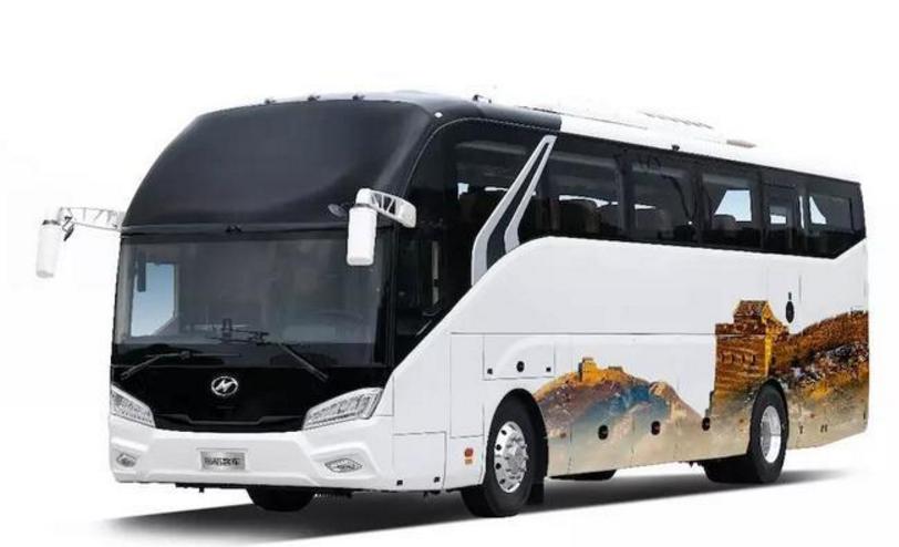 海格新能源汽车:海格客车TOURIST外观