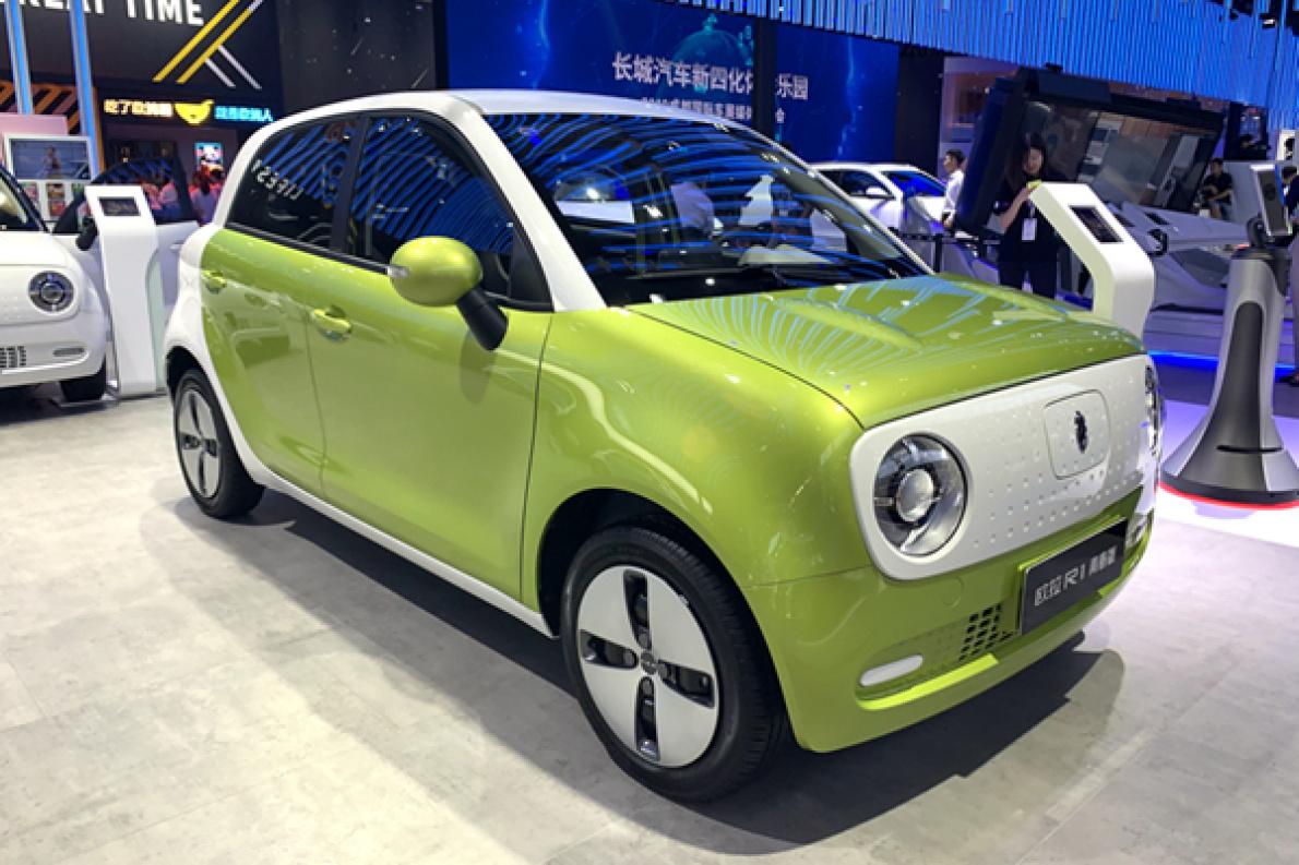 歐拉R1 青春版亮相成都車展,計劃 10 月上市