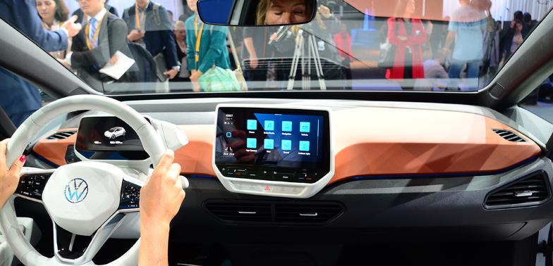 续航550km/年底投产 大众ID.3纯电动车全球首发