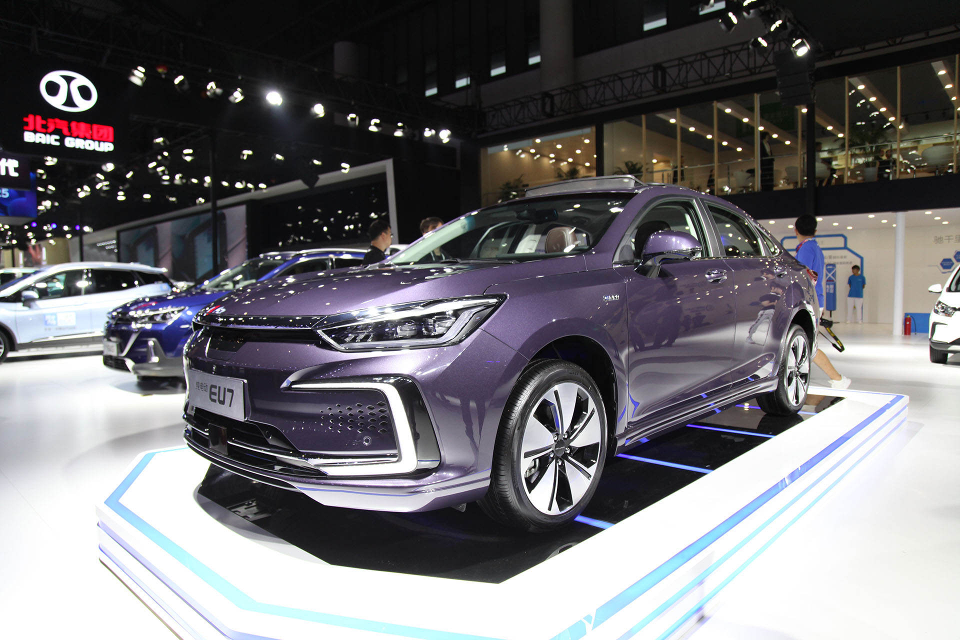 NEDC续航451 km,定位中型轿车,北京汽车EU7将于9月19日上市