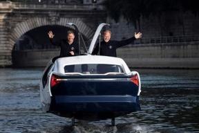 成本超 150 万,时速 33.3 km/h,法国首试水上出租车
