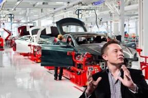 首辆 Model 3 白车身已下线,传特斯拉上海工厂将于 10 月 14 日开工