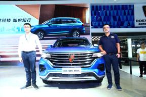 上汽荣威RX5 MAX&eMAX登陆深圳十一车展