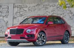 七座超豪华SUV 18款宾利添越柴油版怎么样?