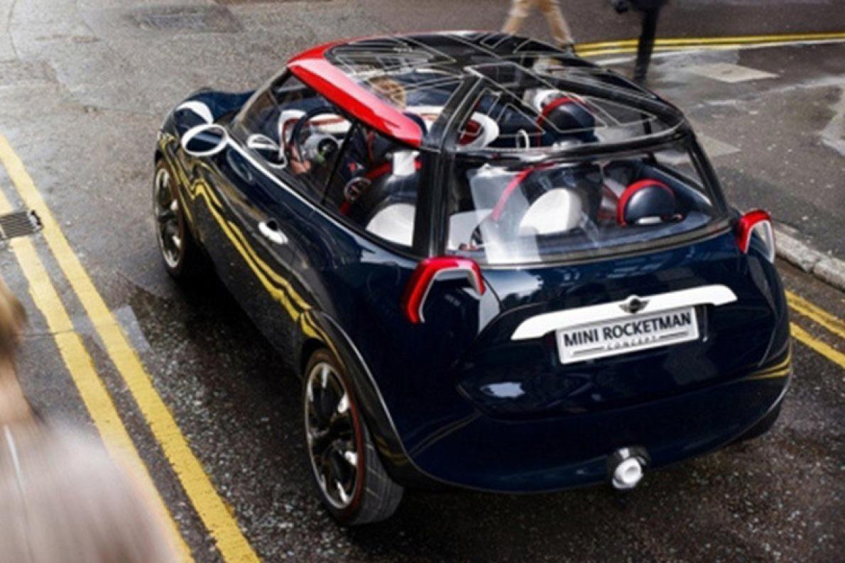 或2022年推出 MINI新电动车渲染图