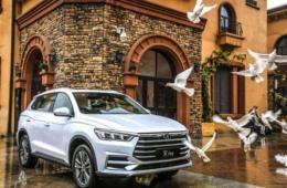 比亚迪宋pro作为国产紧凑型SUV轿车以出色的性能赢得好评