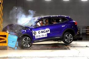 C-NCAP最新碰撞试验成绩出炉,3款新能源车参与,两款5星一款2星