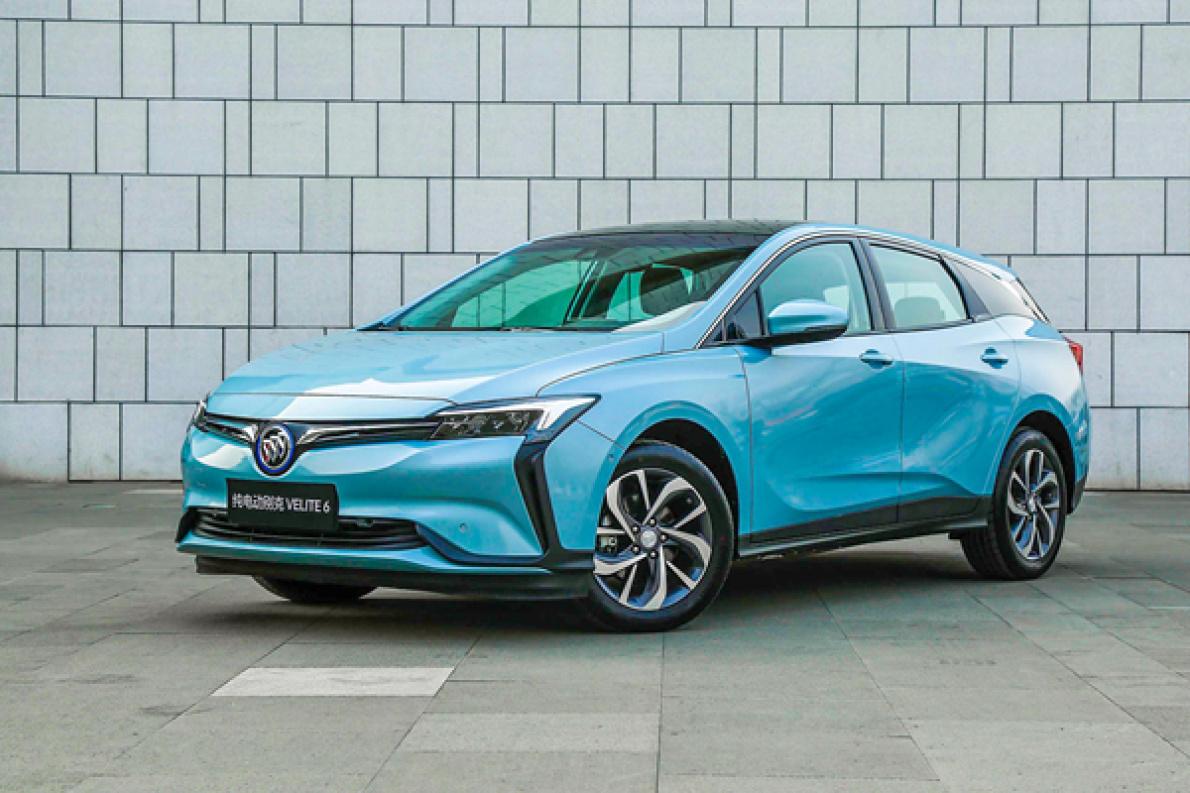 """补贴后17.78万元起,别克VELITE 6推出410km版本车型,并发布中文名""""微蓝"""""""